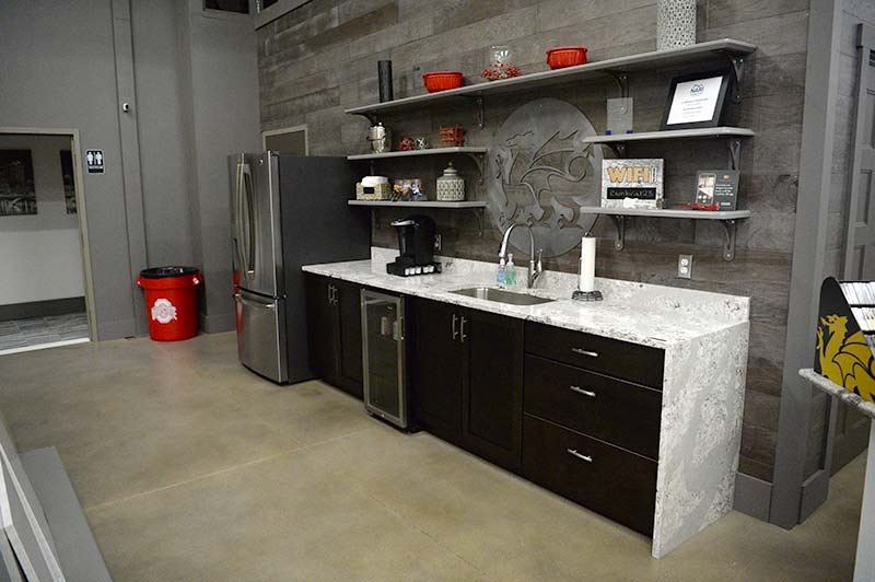 Cambria Countertops in Columbus Ohio Showroom Kitchen