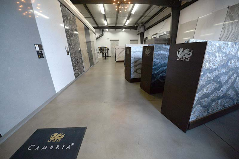 Cambria Columbus Ohio Showroom